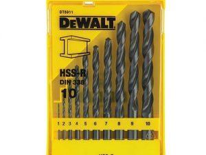مجموعه 10 عددی مته فلز دیوالت مدل DT5911