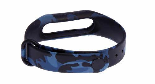 بند مچ بند هوشمند شیاومی مدل Army Black 1 Design