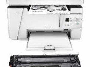 پرینتر لیزری اچ پی مدل LaserJet M26A به همراه یک تونر اضافه