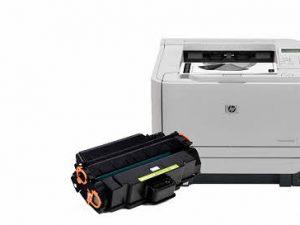 پرینتر لیزری اچ پی مدل LaserJet P2035 به همراه یک تونر اضافه