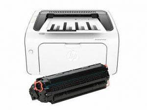 پرینتر لیزری اچ پی مدل LaserJet Pro M12a به همراه یک تونر اضافه