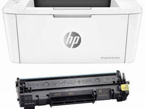 پرینتر لیزری اچ پی مدل LaserJet Pro M15a به همراه تونر