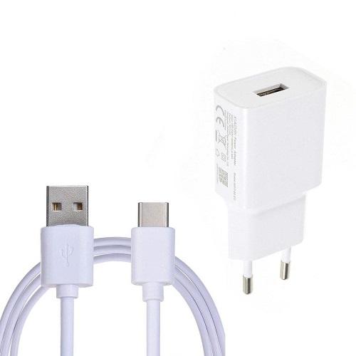 شارژر دیواری شیائومی مدل MYD-08-DF به همراه کابل تبدیل USB-C