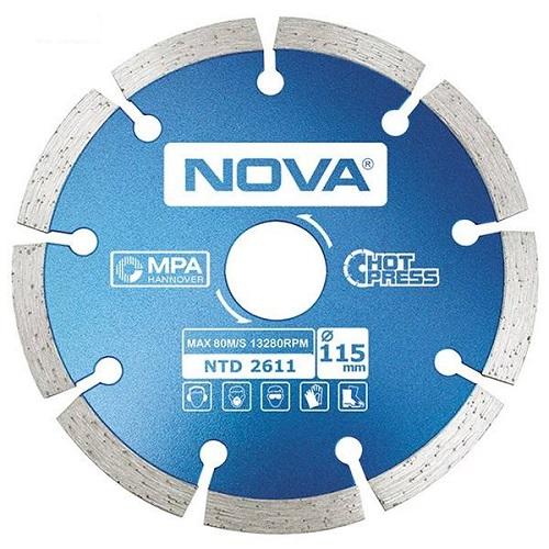 صفحه فرز سنگ گرانیت بر نووا مدل NTD-2611