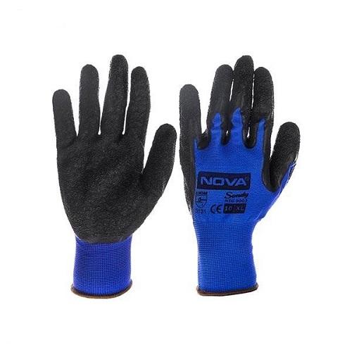 دستکش ایمنی ضد لغزش نووا مدل NTG-9003