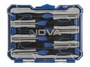 ست 6 عددی پیچ گوشتی ساعتی نووا مدل NTS 1329