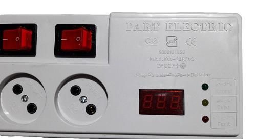 چند راهی برق 5 متری پارت الکتریک مدل PE5205