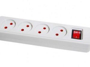 چند راهی برق 16 آمپر پارت الکتریک مدل PE652